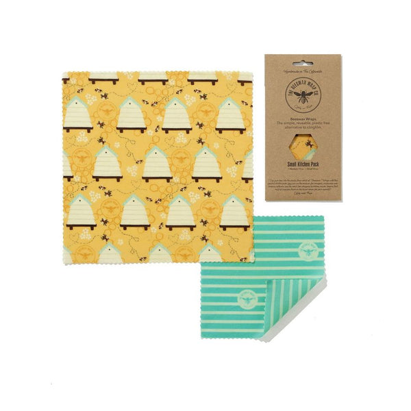Beeswax Food Wraps - Small Variety Pack