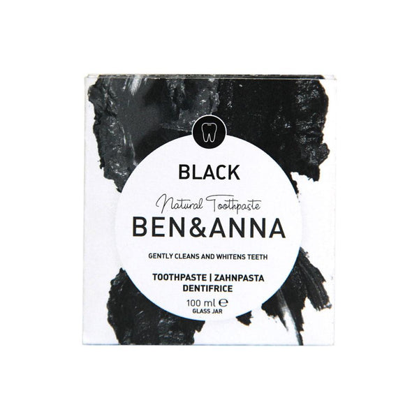 Ben & Anna Natural Black Activated Charcoal Toothpaste