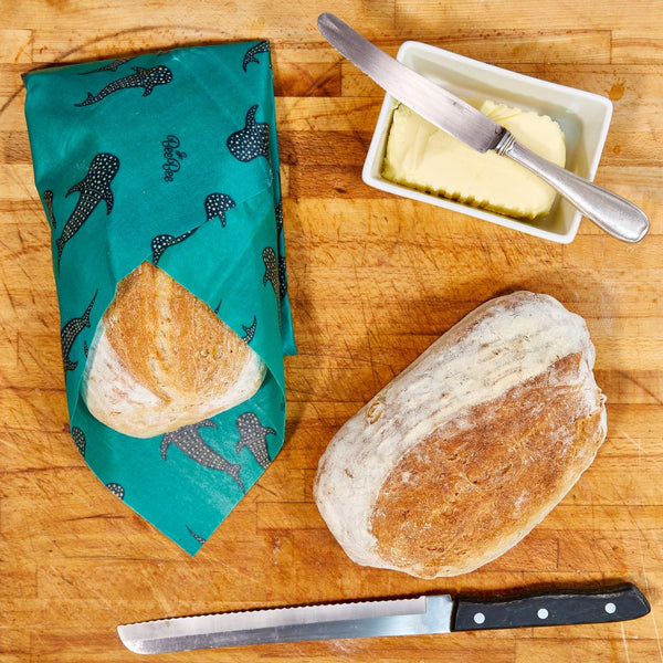 Bee Bee & Leaf  Beeswax Bread Wrap - Whale Pod