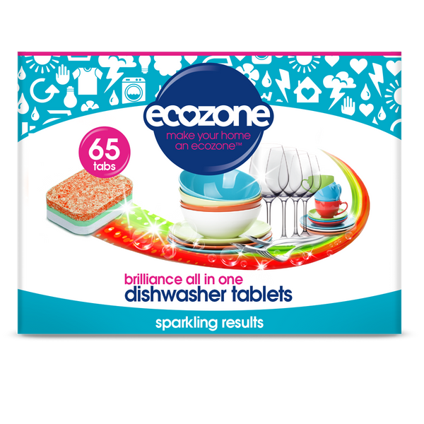 Ecozone Dishwasher Tablets Brilliance - 65