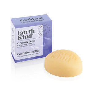 EarthKind Conditioner Bar Organic Oats - for all hair types 50g