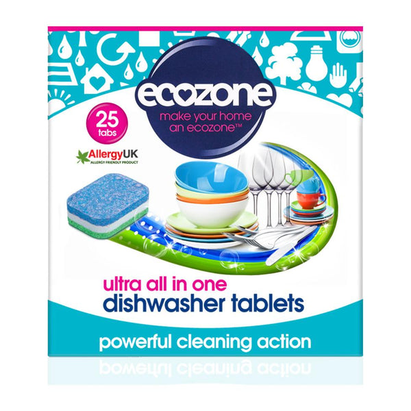 Ecozone Ultra All in One Dishwasher Tablets - 25
