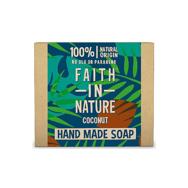 Faith in Nature Organic Coconut Soap - 100g