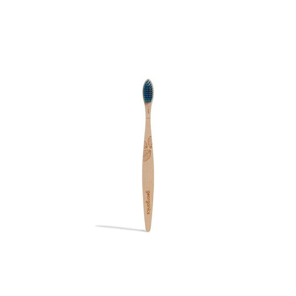 Georganics Natural Beech Toothbrush - Firm bristles