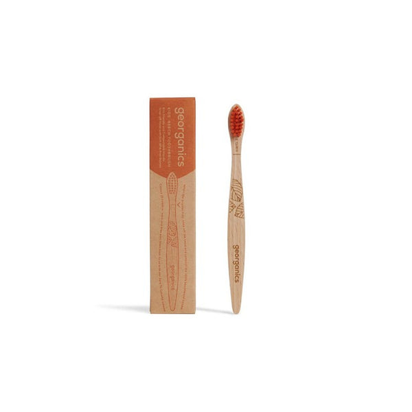 Georganics Kids Natural Beech Toothbrush - Soft bristles