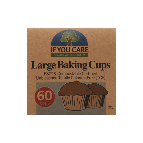 If You Care - Large Baking Cups - 60 cups