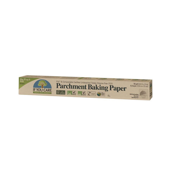If You Care - Unbleached Parchment Baking Paper Roll