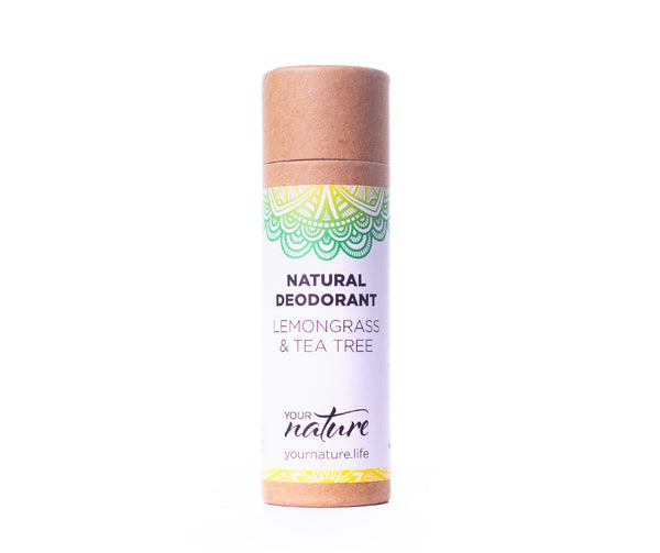 Your Nature Natural Deodorant - Lemongrass & Tea Tree