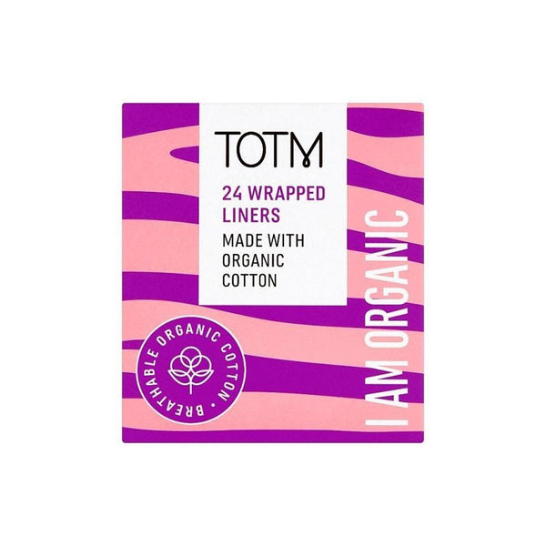 TOTM Organic Cotton Liners - Wrapped (24p/box)