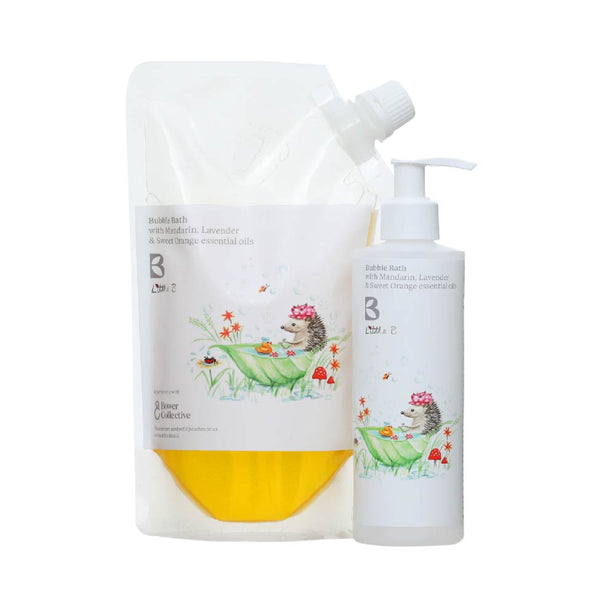 Bramley Little B Bubble Bath Refill 500ml & Dispenser Bundle