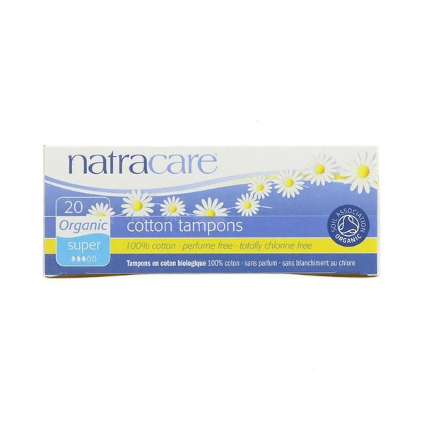 Natracare Super Organic Cotton Tampons