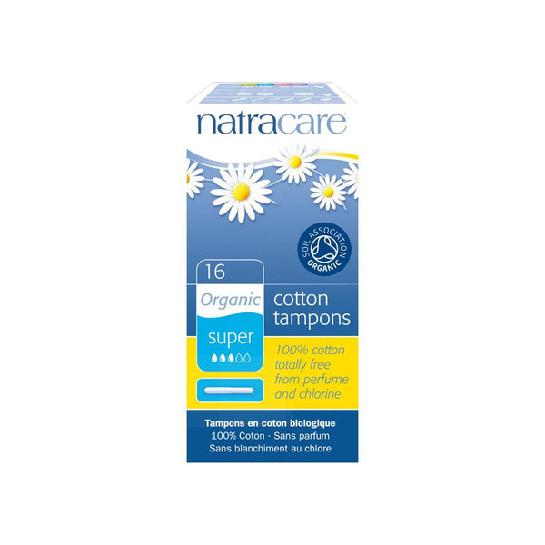 Natracare Super Organic Cotton Tampons with Applicator