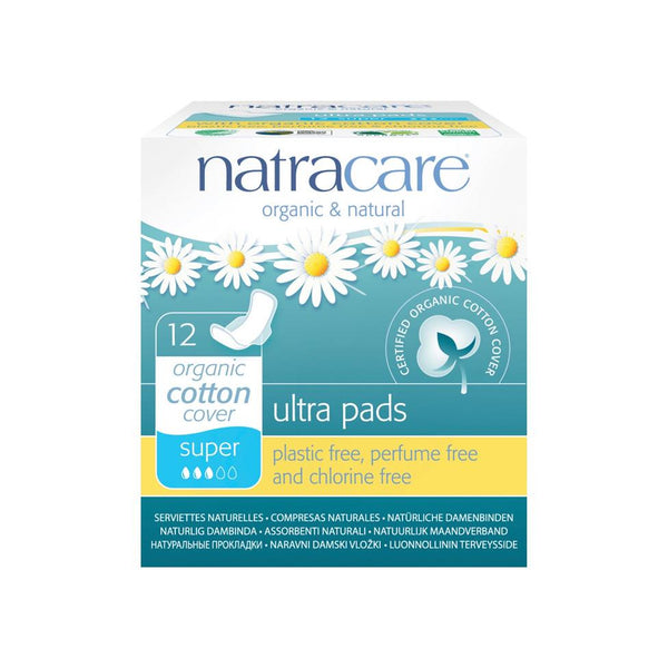 Natracare Ultra Super Organic Pads