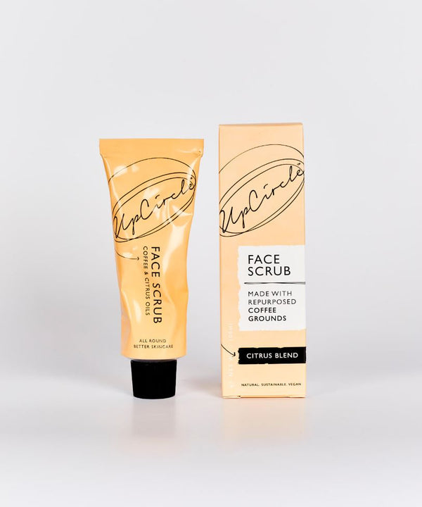 UpCircle Coffee Face Scrub Citrus Blend for Normal to Dry Skin - 100ml