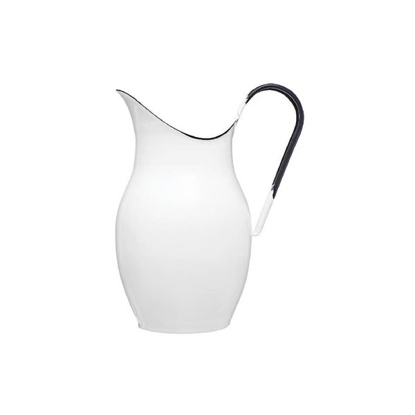 Enamel Pitcher for Washing, WC Toilet Brush Holder
