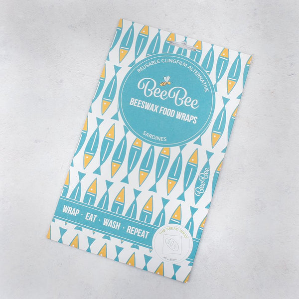 Bee Bee & Leaf Beeswax Bread Wrap - Sardines