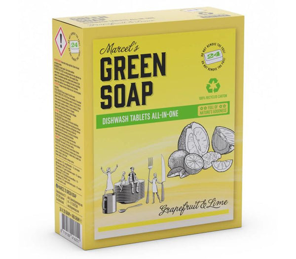 Marcel's Grapefruit & Lime Dishwasher Tablets - 24