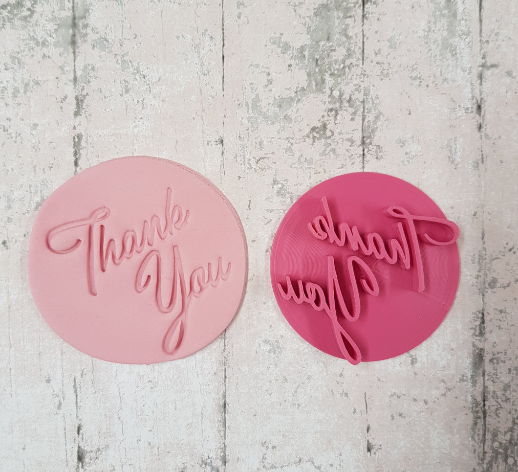 'Thank you' Stamp Style 4