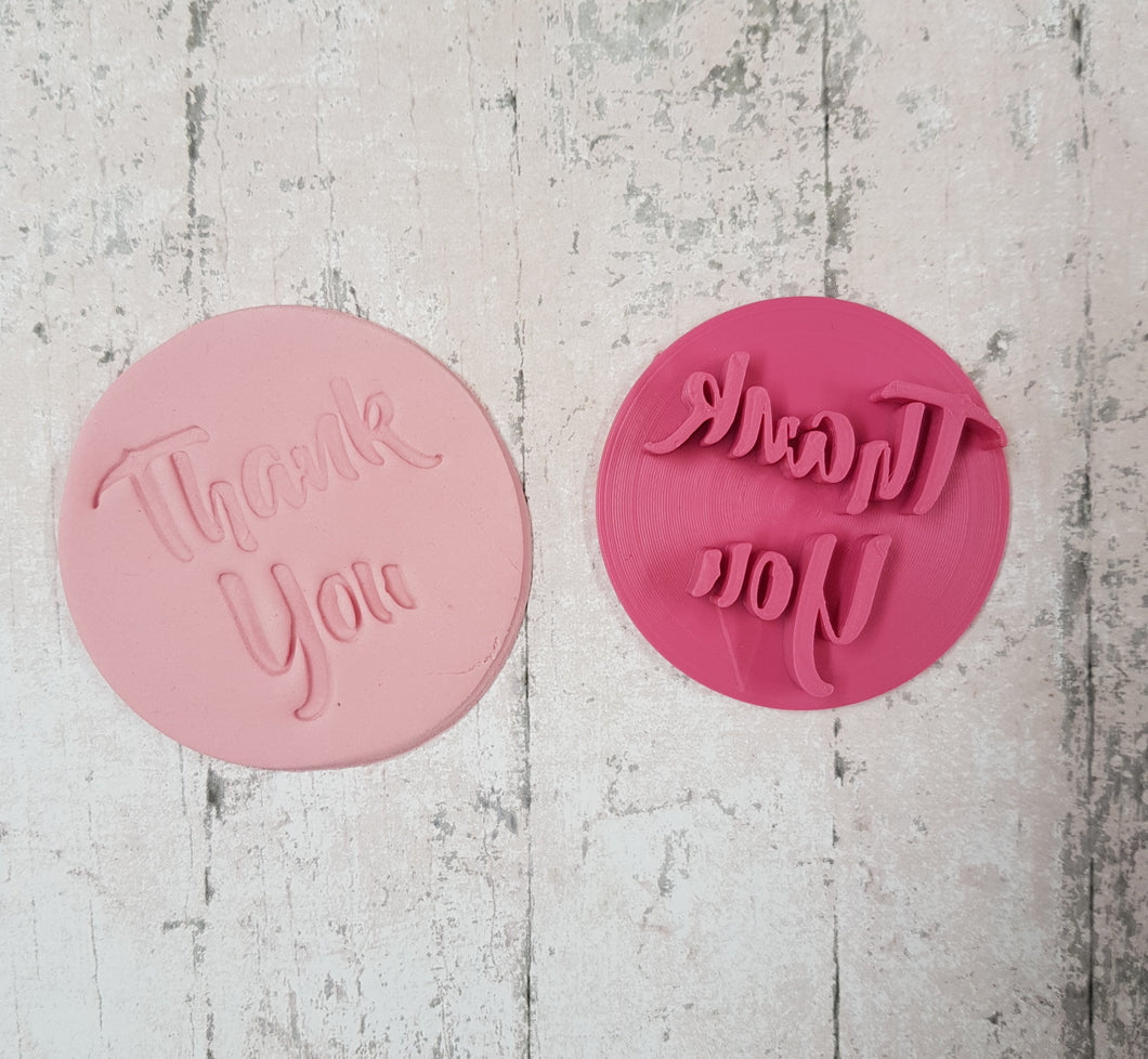 'Thank you' Stamp Style 2