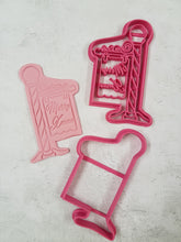Sign Post cutter with Fondant imprint cutter