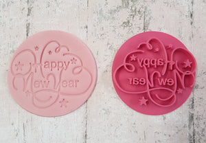 'Happy New Year' Stamp
