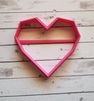 Geometric Heart shape
