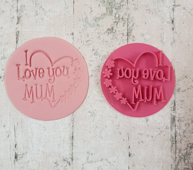 'I Love you MUM' stamp