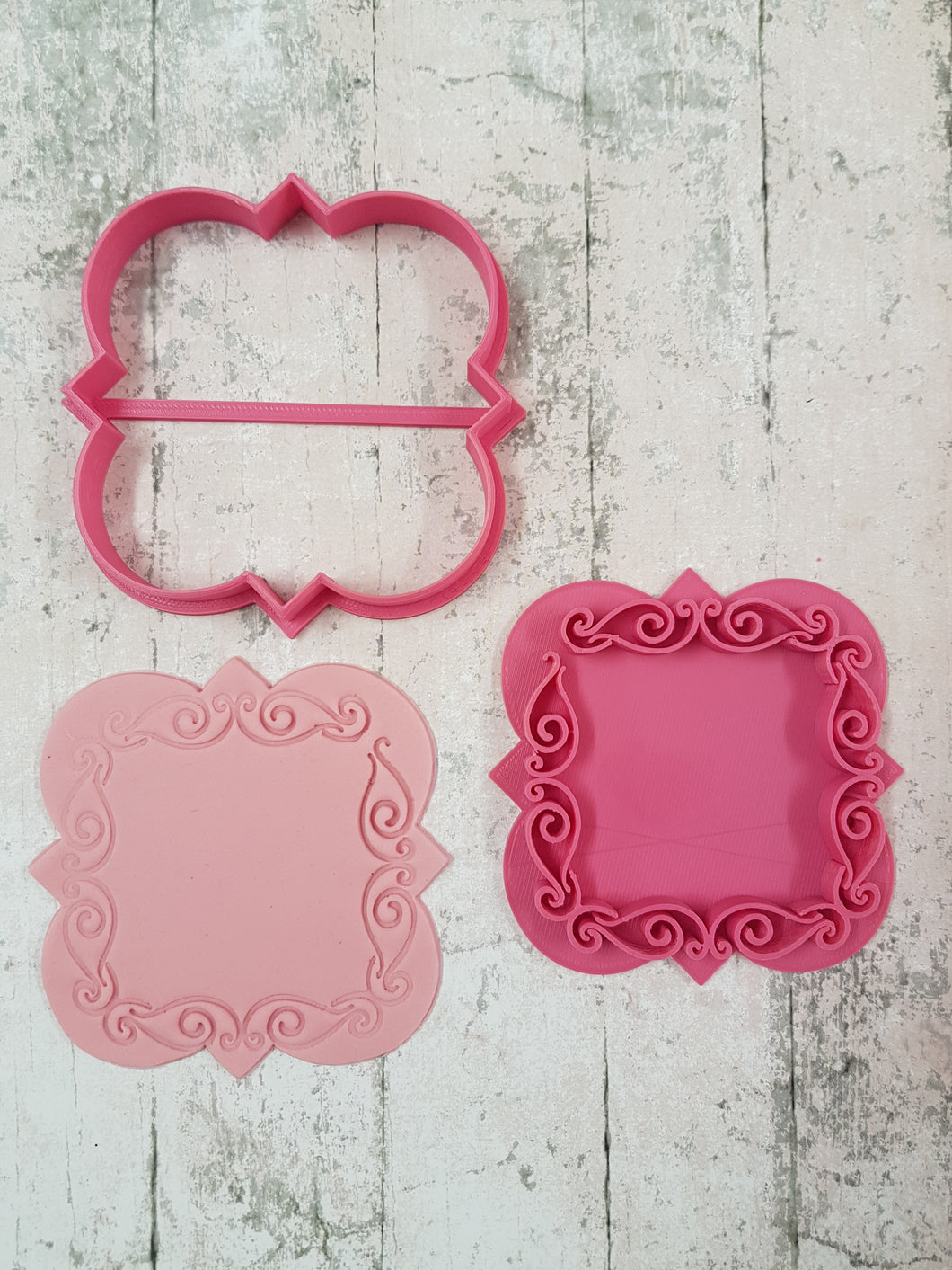 Style 1 fancy border stamp and cutter