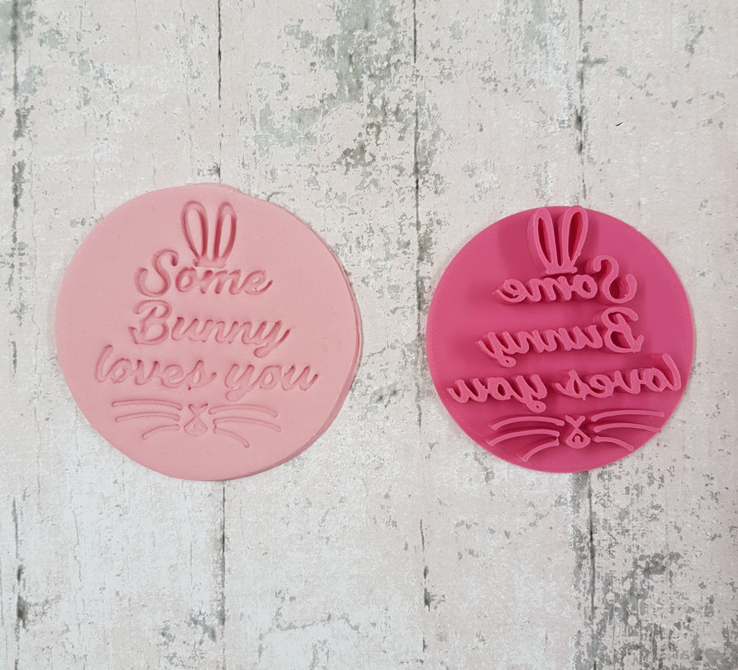 'Some Bunny loves you' Stamp