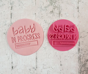 'baby in progress' Stamp