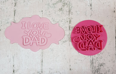 'I Love you Dad' Stamp