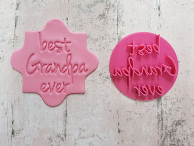 'best Grandpa ever' Stamp