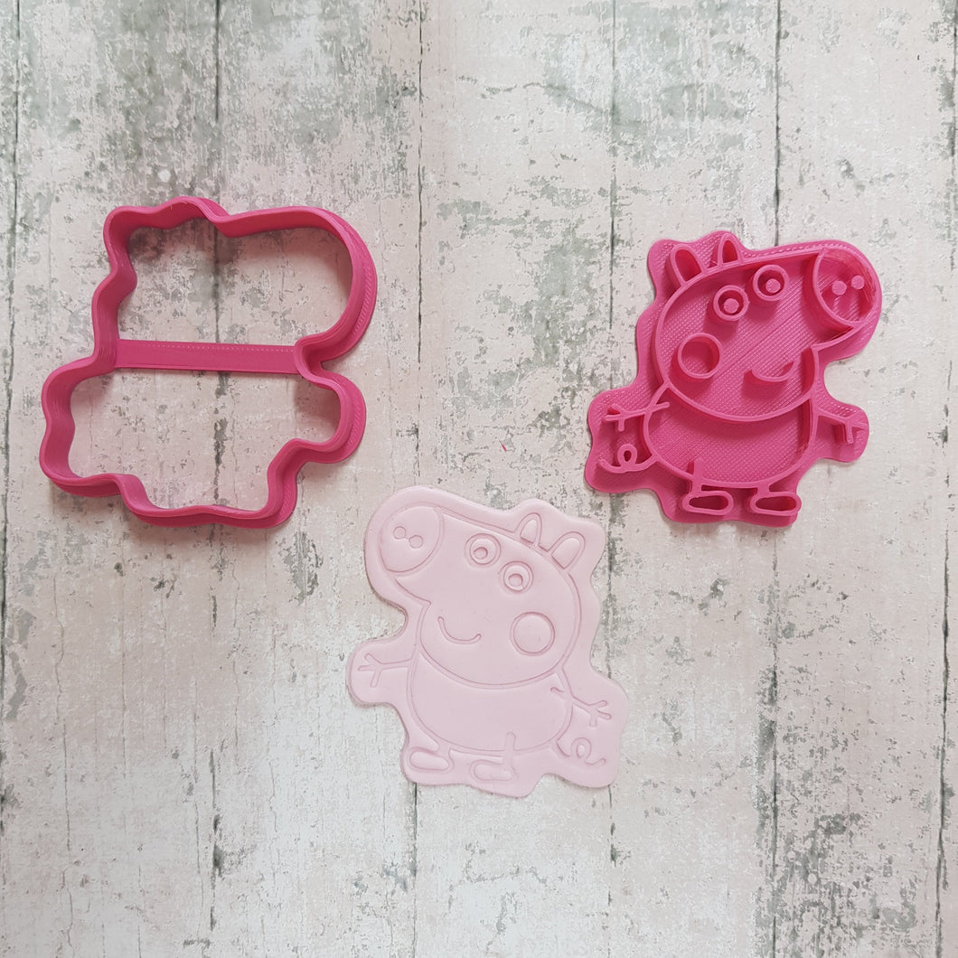 Boy Pig Cutter & Imprint