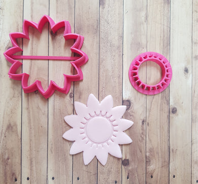 Sunflower Cutter & Imprint
