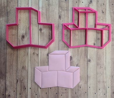3D Baby Blocks Cutter & Imprint