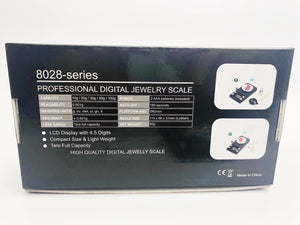 Professional Digital Jewelry Scale 8028-series - 10g/0.001g or 50g/0.001g