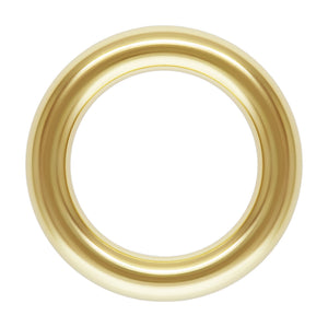 "Jump Ring 18ga .040x.240"" (1.0x6.0mm), 14k gold filled. Made in USA. #4004522C"