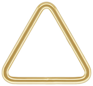 "Triangle .035x.394"" (0.89x10.0mm), 14k gold filled. Made in USA. #4004420TRC"