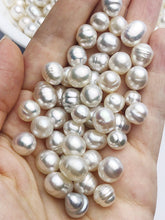 White South Sea Loose Pearls, Australia, Drops/Ovals, 8mm and 9mm, AAA Quality