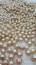 Champagne South Sea Pearls button, Wholesale Pearls