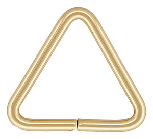 "Triangle Jump Ring 20.5ga .030x.300"" (0.76x7.6mm), 14k gold filled. Made in USA. #4004419TR"