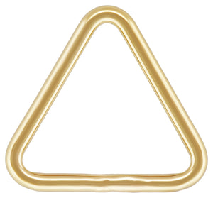 "Triangle .030x.300"" (0.76x7.6mm), 14k gold filled. Made in USA. #4004419TRC"