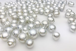 Silver South Sea, AAA, 10mm to 15mm, SB, Loose Pearls (198)