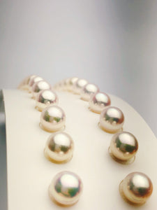 8mm Japanese Akoya Sea Pearls AAA Loose Matched Pearl Sets, 8mm Round (269)