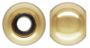 7.0mm Smart Bead 3.5mm Hole 3.0mm Fit, 14k gold filled. Made in USA. #4004870I