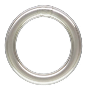 "Jump Ring 20.5ga .030x.200""(0.76x5.0mm)CL AT, Sterling Silver. Made in USA. #5004472C"