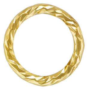 "Sparkle Jump Ring .025x.200"" (0.64x5.0mm), 14k gold filled. Made in USA. #4004452P1C"