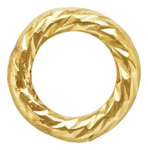"Sparkle Jump Ring .030x.157"" (0.76x4.0mm), 14k gold filled. Made in USA. #4004460P1C"