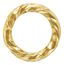 "Sparkle Jump Ring .025x.157"" (0.64x4.0mm), 14k gold filled. Made in USA. #4004445P1C"