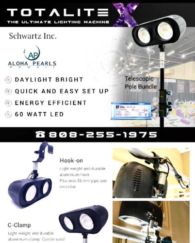 Total Light Special Jewelry Lighting System